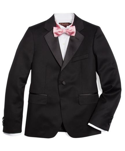 Boys One-Button Tuxedo Prep Jacket