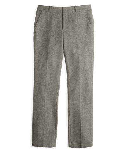 Boys Herringbone Trousers