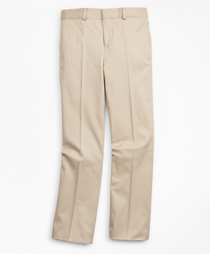 Boys Cotton Twill Suit Pants