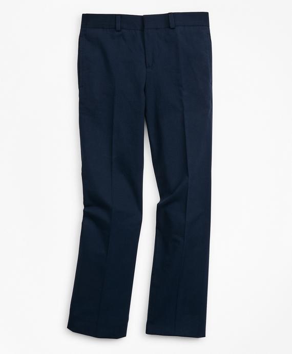 Boys Seersucker Suit Pants Navy