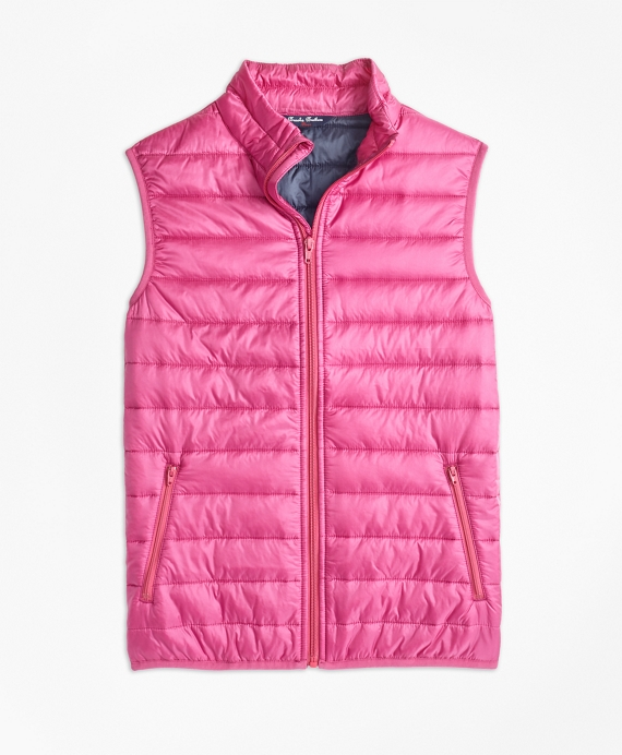 Girls Puffer Vest Pink