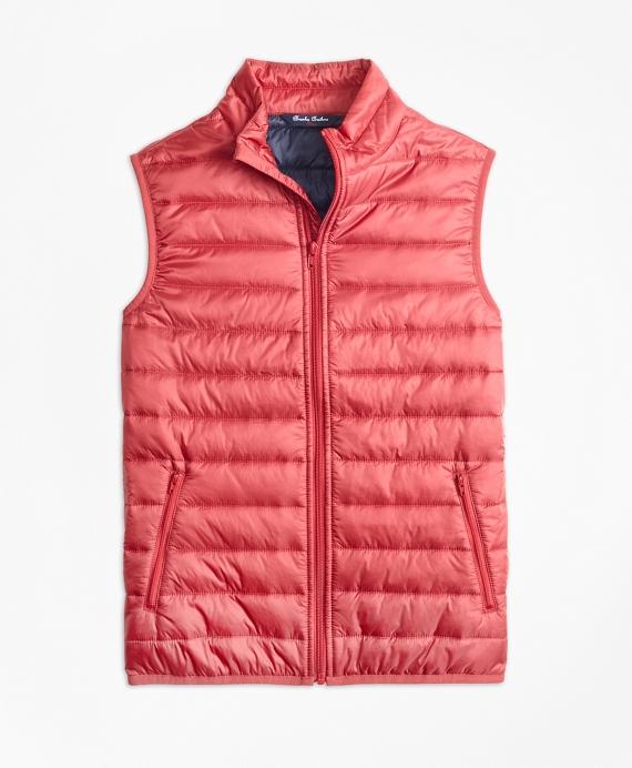 Girls Puffer Vest Red