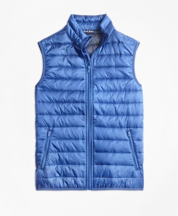 Boys Puffer Vest Blue