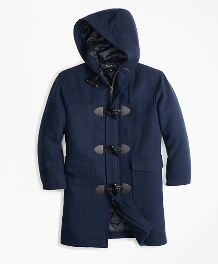 Boys Melton Toggle Coat