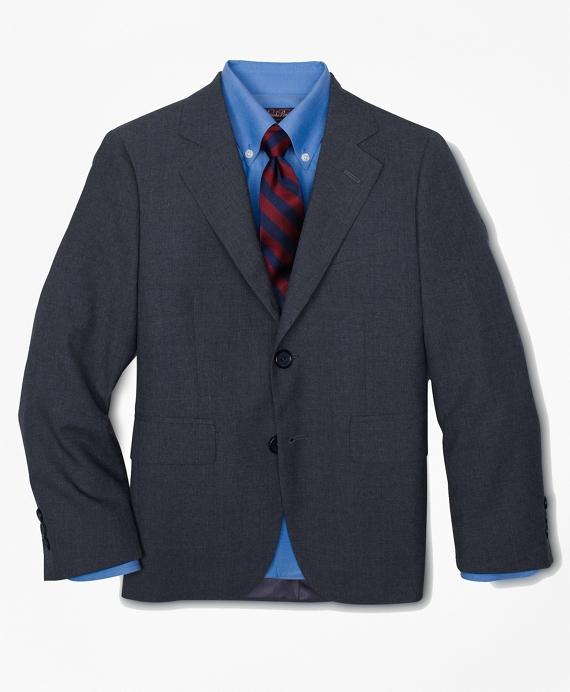 Boys Two-Button BrooksEase Prep Jacket Grey