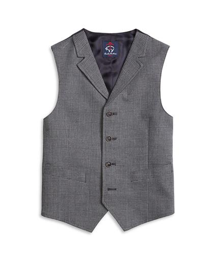 Boys Houndstooth Vest