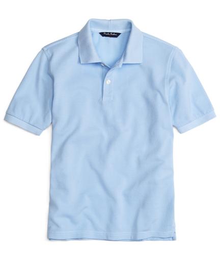 Boys Short-Sleeve Pique Polo Shirt