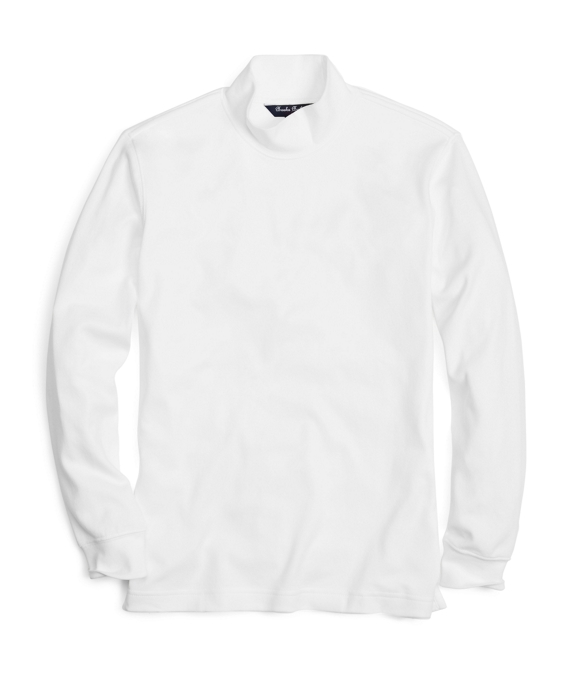 Boys Turtleneck White