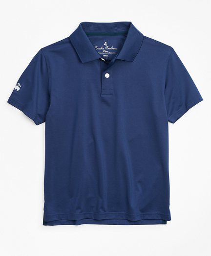 Boys Solid Performance Series Polo Shirt