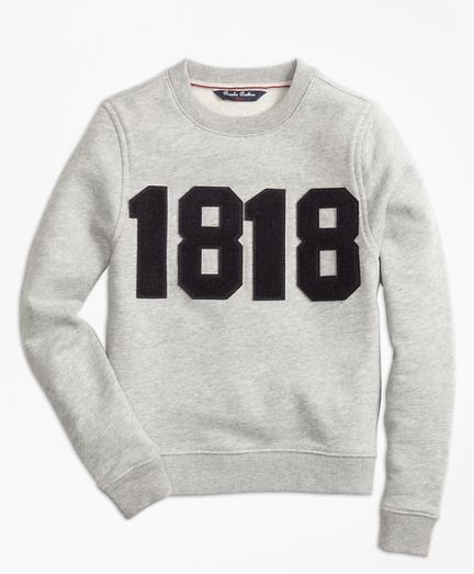 Boys 1818 Crewneck Pullover Fleece
