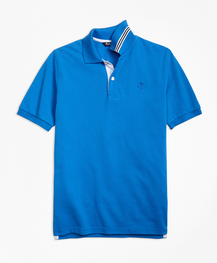Boys Short-Sleeve Pique Polo Shirt