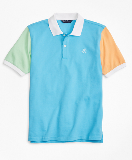 Boys Fun Cotton Pique Polo Shirt
