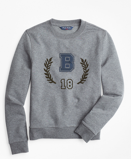 Boys Cotton-Blend Sweatshirt