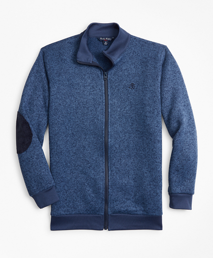 Boys Full-Zip Fleece Knit