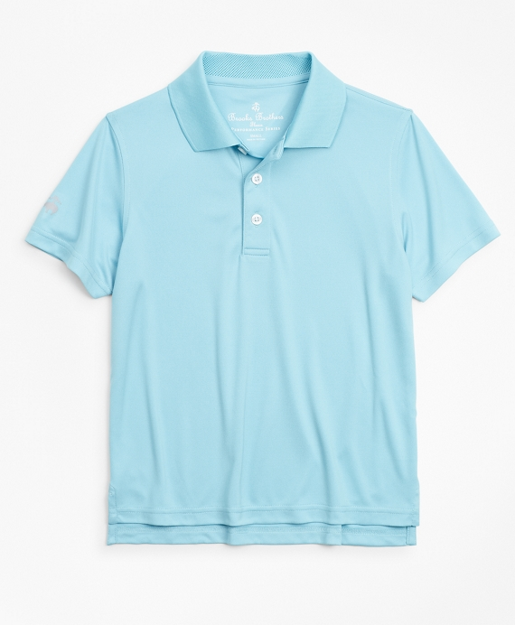 Boys Performance Series Polo Shirt Aqua