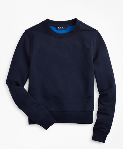 Boys French Terry Crewneck Sweatshirt