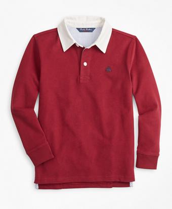 Boys Cotton Rugby Shirt