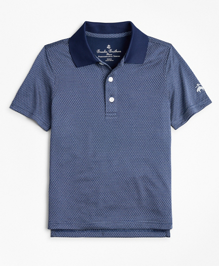 Boys Performance Series Dobby Polo Shirt