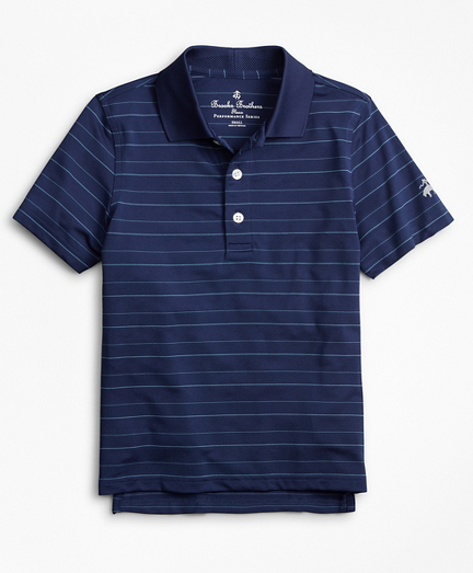 Boys Performance Series Bird's-Eye Polo Shirt