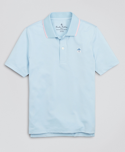 Boys Performance Series Pique Polo Shirt