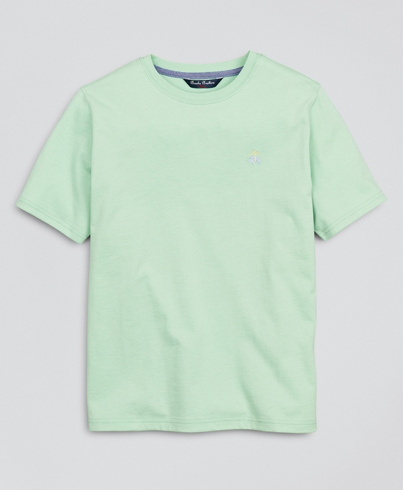Boys Jersey Cotton Short-Sleeve T-Shirt Light Green