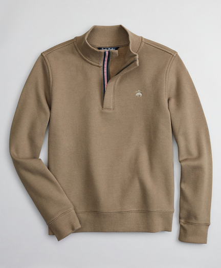 Boys Pique Half-Zip Fleece