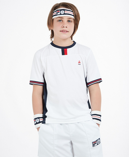 Brooks Brothers x FILA Kids Deuce T-Shirt