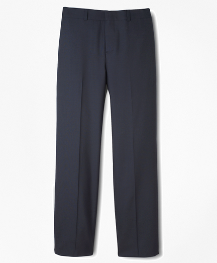 Boys BrooksEase Junior Plain-Front Dress Trousers