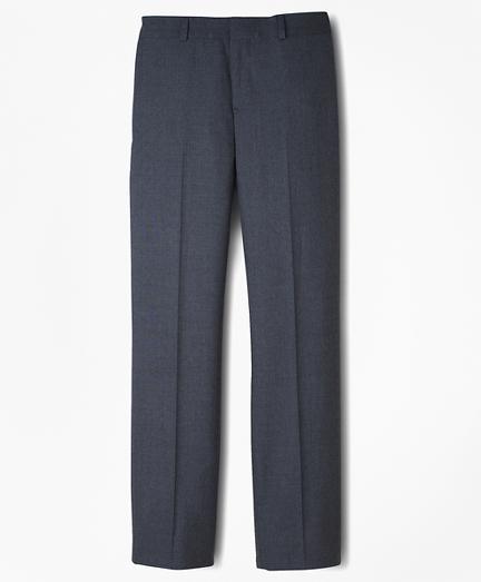Brooksbrothers Boys BrooksEase Prep Plain-Front Suit Pants