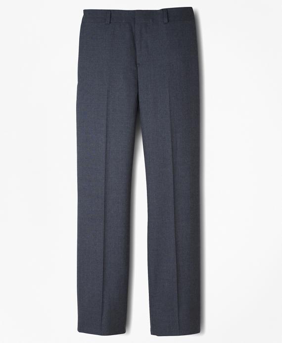 Boys BrooksEase Prep Plain-Front Suit Pants Grey