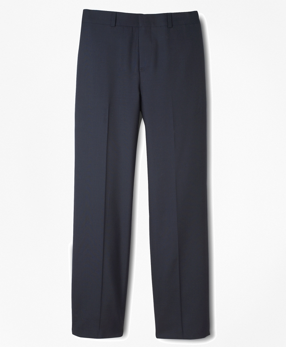 Boys BrooksEase Prep Plain-Front Suit Pants Navy