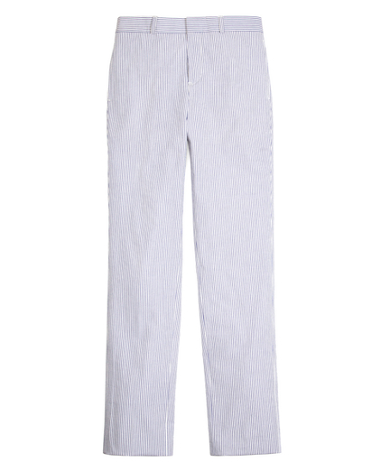 Boys Seersucker Prep Trouser