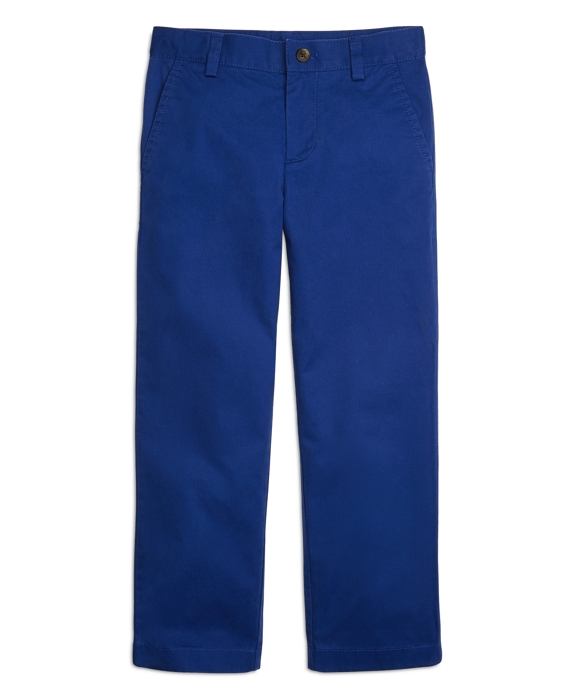 Boys Washed Chinos Blue