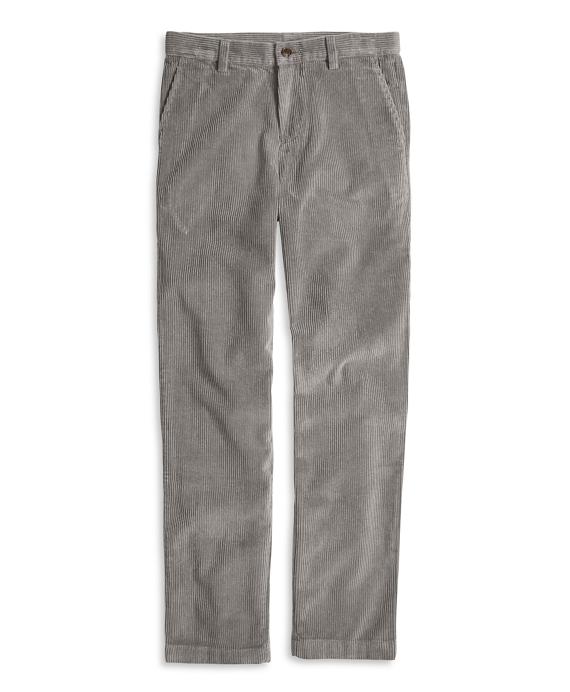 Boys 8-Wale Corduroys Grey