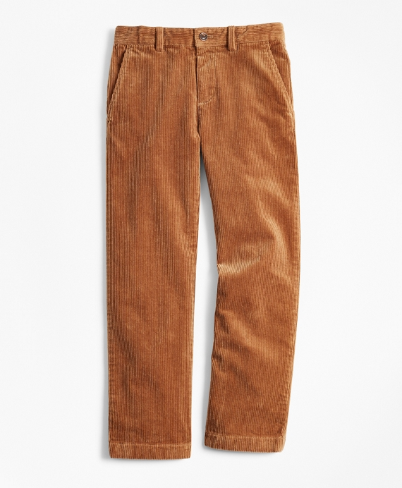 Boys Wide Wale Corduroys Camel