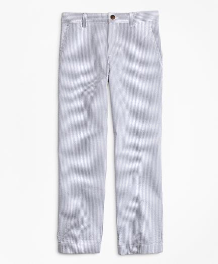 Boys Seersucker Pants