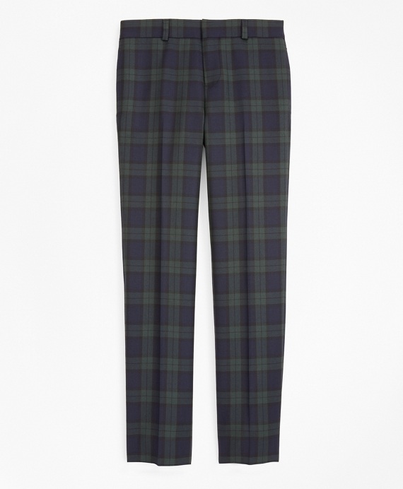 Boys Black Watch Dress Pants Navy-Green
