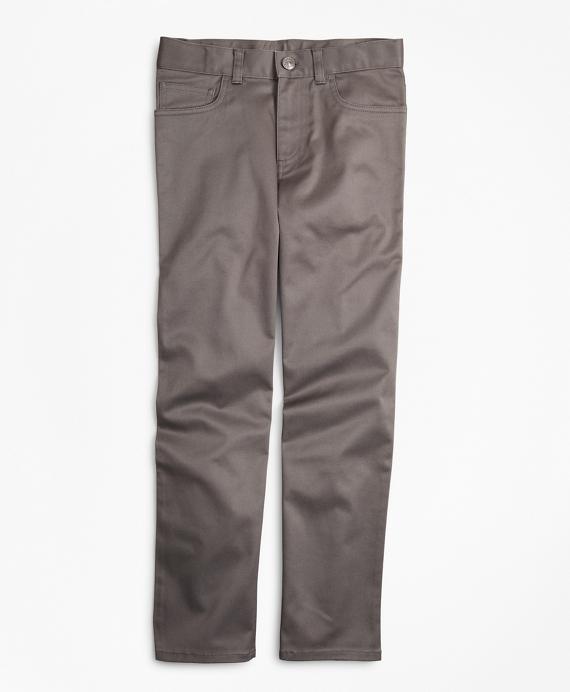Stretch Advantage Chino® Five-Pocket Pants Grey