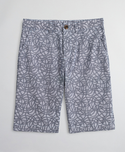 Boys Cotton Chambray Shorts