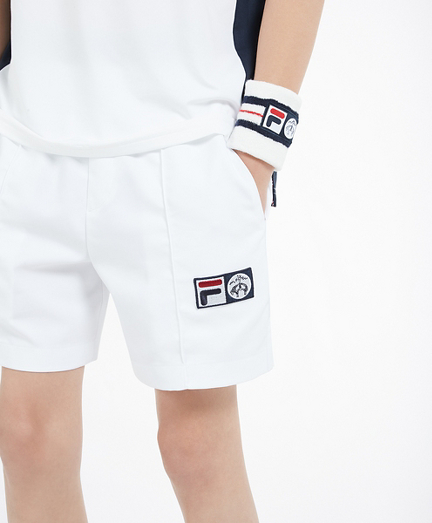 Brooks Brothers x FILA Kids Championship Shorts