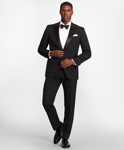 BrooksGate™ Regent-Fit Wool Tuxedo Separates