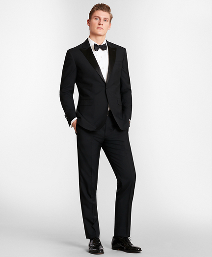 BrooksGate™ Milano-Fit Wool Tuxedo Separates