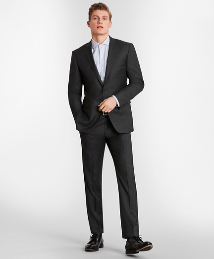 BrooksGate™ Milano-Fit Wool Twill Suit Separates