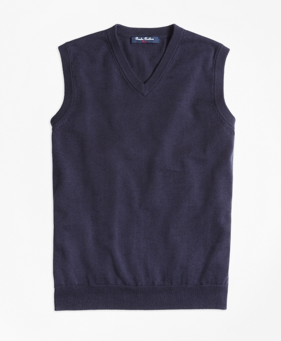 Boys Sweater Vest Navy
