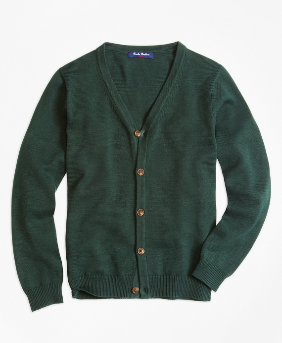 Boys Cardigan Hunter Green