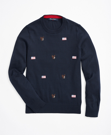 Boys Cotton Embroidered Sweater