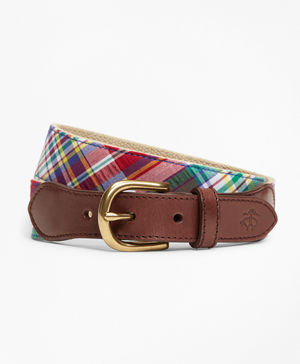 Cotton Madras Belt