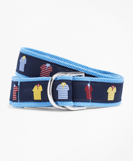 Boys Polo Ribbon Belt