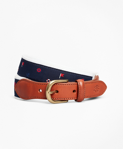 Boys Casual Nautical Belt