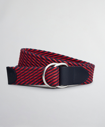 Boys Cotton Stripe Belt